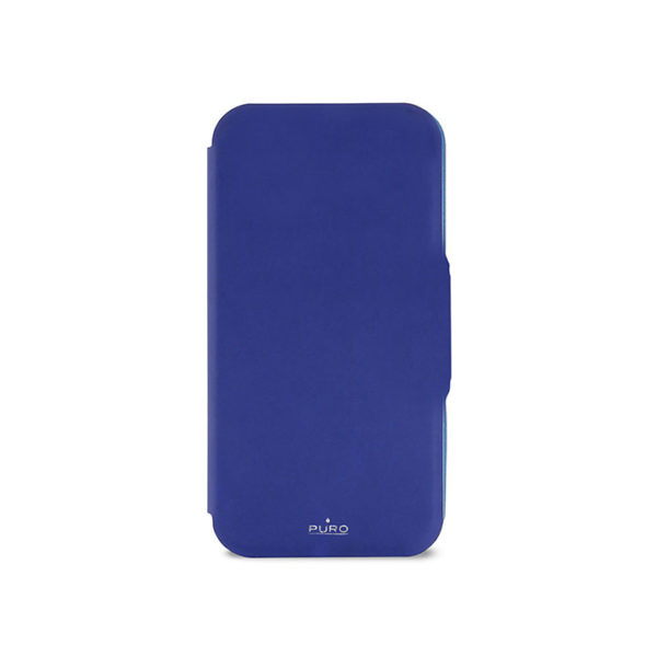 Η Wallet Case ξεχωρίζει ιδιαίτερα για τα τρία πρακτικά διαμερίσματα για πιστωτικές κάρτες που στεγάζονται στο εσωτερικό εμπρόσθιο πτερύγιο. Εξασφαλίζει ελεύθερη πρόσβαση στις λειτουργίες αφής του μπροστινού πίνακα και στον συνδετήρα για τη φόρτιση. Εξατομικευμένη με το λογότυπο Puro σε λαμπερό λαμπερό ασημί αποτέλεσμα.